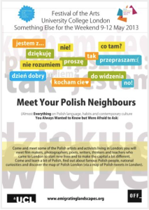 UCL- Meet Your Polish Neighbour