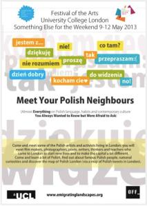 UCL- Meet Your Polish Neighbour